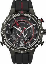 Timex Inteligente Cuarzo Movimiento de Cuarzo Esfera Negra para Hombre Reloj T2N720