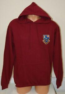 CLEARANCE: 51 Ordnance Company RAOC embroidered Hoodie - Burgundy Medium