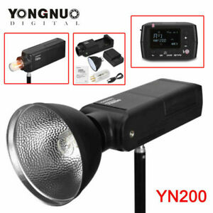 YONGNUO YN200 TTL HSS 200W With Battery Outdoor Flash for Canon Camera Newest