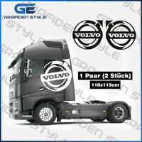 1 Paar VOLVO LOGO - LKW Fahrerhaus Aufkleber - Volvo Cab Sticker - Volvo Decal !