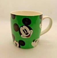DISNEY STORE Mickey Mouse mug/cup green collectable