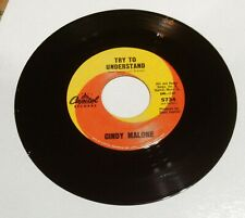 """CINDY MALONE """"Try To Understand"""" NORTHERN SOUL 45 on CAPITOL *NICE*"""