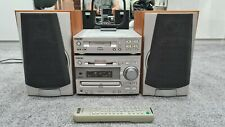 SONY DHC MD313 CD PLAYER MINIDISC MD RECORDER CASSETTE DECK TC TX313 AND REMOTE
