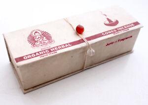 Organic Green Tara Cone Incense-Juniper Fragrance