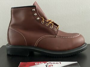 Red Wing 8249 Supersole 6-Inch Oil Resistance Boot E3 Men's Size 9 Work Boots