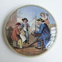 """Prattware - Pot en faïence anglaise XIXe à décor imprimé """"Old Jack"""" - 19th C."""