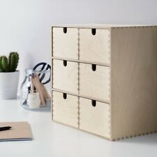 Ikea Moppe Mini Chest of Drawers Wood from Birch Plywood 31x18x32