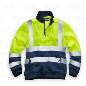 Standsafe HV040 HIGH VISIBILITY TWO TONE SWEATSHIRT, Yellow