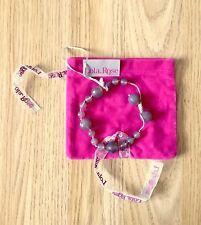 Lola Rose - Dark Grey Agate Agnes Tumble Bracelet