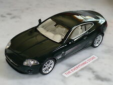 WELLY JAGUAR X K COUPE 1:24 DARK GREEN IVORY OR METALLIC SILVER USA FREE SHIP