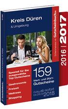 Gutscheinbuch Düren & Umgebung 2016/2017 - gültig ab sofort