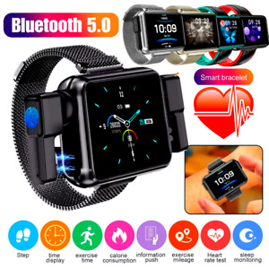 Reloj Inteligente Bluetooth compatible para Android Samsung Smart Watch 2 IN 1