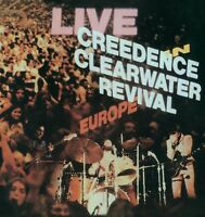 CREEDENCE CLEARWATER REVIVAL - LIVE IN EUROPE (2LP)  2 VINYL LP NEU