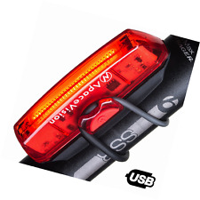 Apace Vision USB Rechargeable Bike Tail Light - Powerful 100 Lumens LED Bicycle