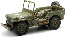 Jeep Willys US Army 1944 1/32 Metal Toy Retro Friction