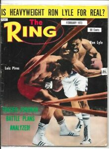3 VINTAGE THE RING BOXING MAGAZINES FEBRUARY 1973 AUGUST 1974 MAY 1975