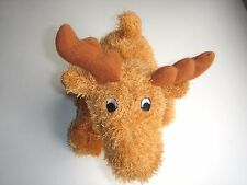 """Lot 2 Dog Toy 9.8"""" Moose Squeaky /// Brand new"""