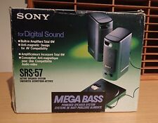 Sony SRS-57 Portable Speakers