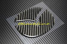 For 03~12 Mazda 3 Rear Trunk Lid Emblem Carbon Fiber Filler Decal Insert Mazda 2