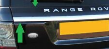 Upper Tailgate Molding With Chrome Strip For Range Rover Sport L320 2006-2011