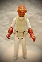 STAR WARS 1983 - Admiral Ackbar Rebel Officer - Vintage Kenner Action Figure