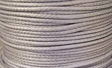 3MM X 60M Silver Dyneema® Fiber Synthetic Winch/ yacht rope tensile:1000 kg -NEW