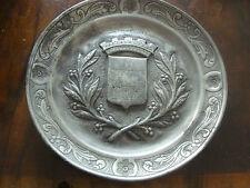 Uralter Zinnteller-laut Sammlerexpertise frühes 18. Jahrhundert-durchmesser 22cm