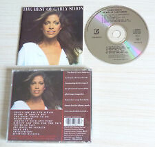 RARE CD ALBUM THE BEST OF CARLY SIMON 10 TITRES 1975 MADE IN GERMANY