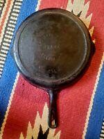 Antique OZARK #8 Cast Iron Skillet w/ Heat Ring 258 CRESCENT FOUNDRY ST LOUIS