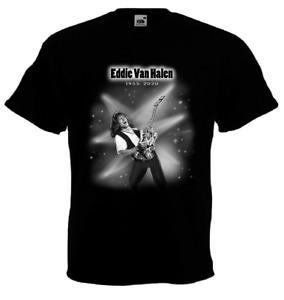 Eddie Van Halen T-shirt tribute to guitarist and songwriter