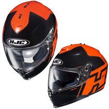 Casques orange HJC moto pour véhicule