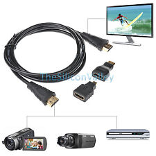 33 in 1 High Speed HDMI to Mini/Micro HDMI Adapter Cable for PC TV PS4 Blu X-Ray