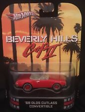 Hot Wheels RETRO ENTERTAINMENT BEVERLY HILLS COP II 68 Olds Cutlass Convertible
