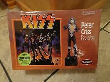 1998 POLAR LIGHTS--KISS DESTROYER--PETER CRISS MODEL KIT (NEW)