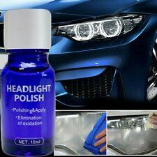 UK Car Headlight Lens Restoration Repair Kit Car Liquid Ceramic Coat Cleaner