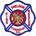 Sheldon Township Fire Rescue South Carolina patch NEW
