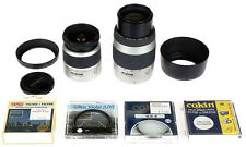 Minolta Sony AF Set of Zooms 28-80mm + 70-210mm w/Filters - Great Shape!