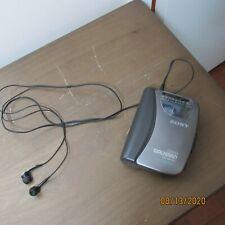Sony Walkman Wm-FX321 AM/FM Radio Cassette Player Auto Reverse