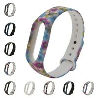 Colorful Silicone Wrist Band Strap Wristband Replacement For Xiaomi Mi Band 1/2