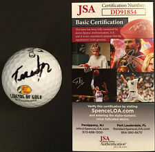 Tom Watson SIGNED JSA Golf Ball 1977, 1981 2x Masters Champ Callaway AUTOGRAPHED