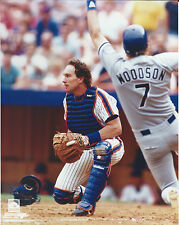 GARY CARTER NEW YORK METS EXPO 8 X 10 PHOTO WITH ULTRA PRO TOPLOADER
