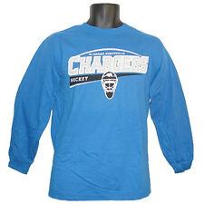 Alabama Huntsville Chargers Hockey Titan Blue Longsleeve T-Shirt - Medium