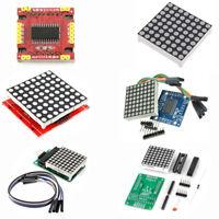 MAX7219 Dot Matrix DIY Kit/Full Color RGB LED/8x8 3mm/5mm  Display Red BSG