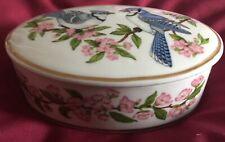 Songbirds Of Spring Find Porcelain Lenox Trinket Music Box