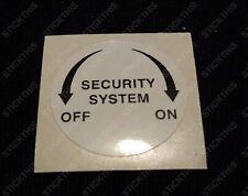 Suits Holden HSV VP Security Door Pillar Switch Sticker/Decal - Screen Printed