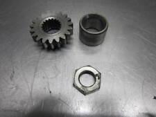 Suzuki RM125 1979 Crankshaft Crank Primary Gear & Nut
