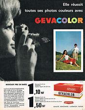 PUBLICITE ADVERTISING   1962   GEVACOLOR    films