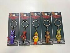Funko Five Nights at Freddy's Set of 5 Collectible Figure Keychains VAULTED
