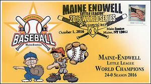 2016, Maine Endwell Baseball, Little League World Champions, 16-339