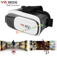 VR Box 2nd Gen Casque Lunettes 3D VR De Réalité Virtuelle pour iPhone Samsung